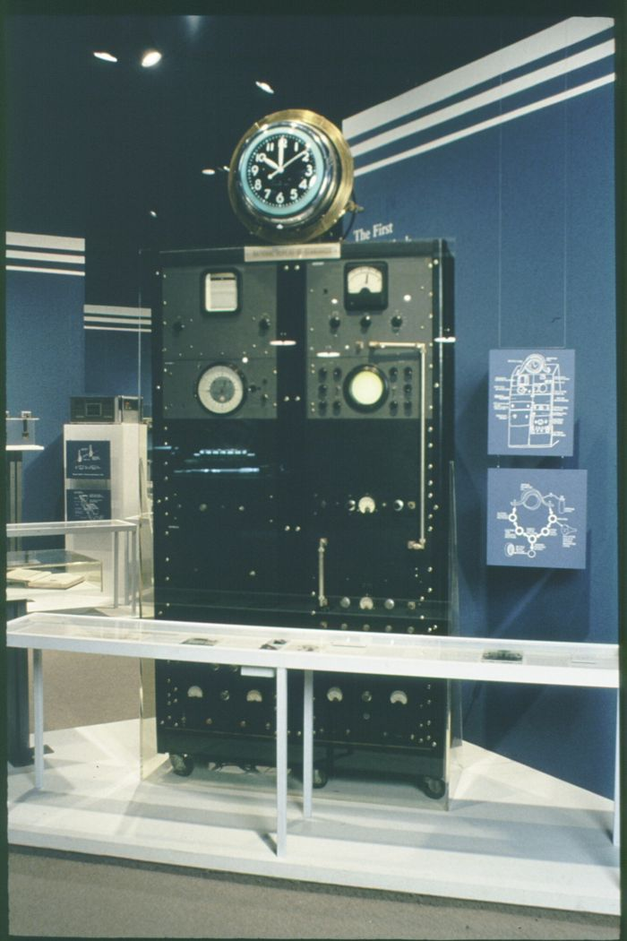 First Atomic Clock on Display at Smithsonian