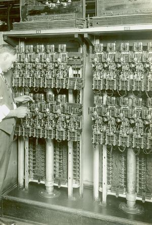 Exchange Service Center >> Electromechanical Telephone-Switching - Engineering and Technology History Wiki