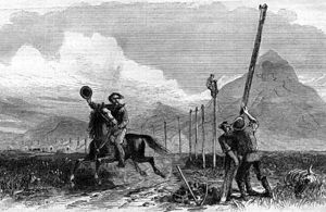 Transcontinental Telegraph Line (U S ) - Engineering and