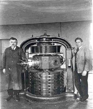 Milestones Poulsen Arc Radio Transmitter 1902