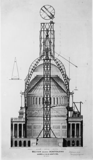United States Capitol Dome Engineering And Technology History Wiki