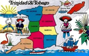 IEEE Trinidad And Tobago Section History Engineering And - Trinidad map