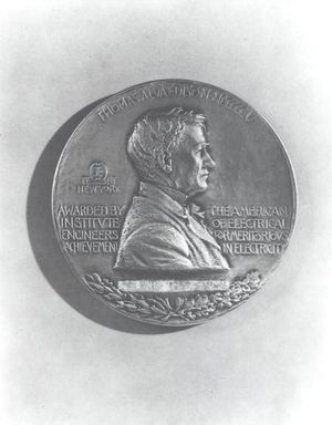 IEEE Edison Medal - Engineering and Technology History Wiki