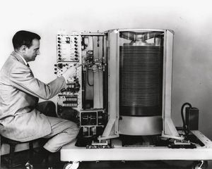 Creating Magnetic Disk Storage At Ibm Engineering And